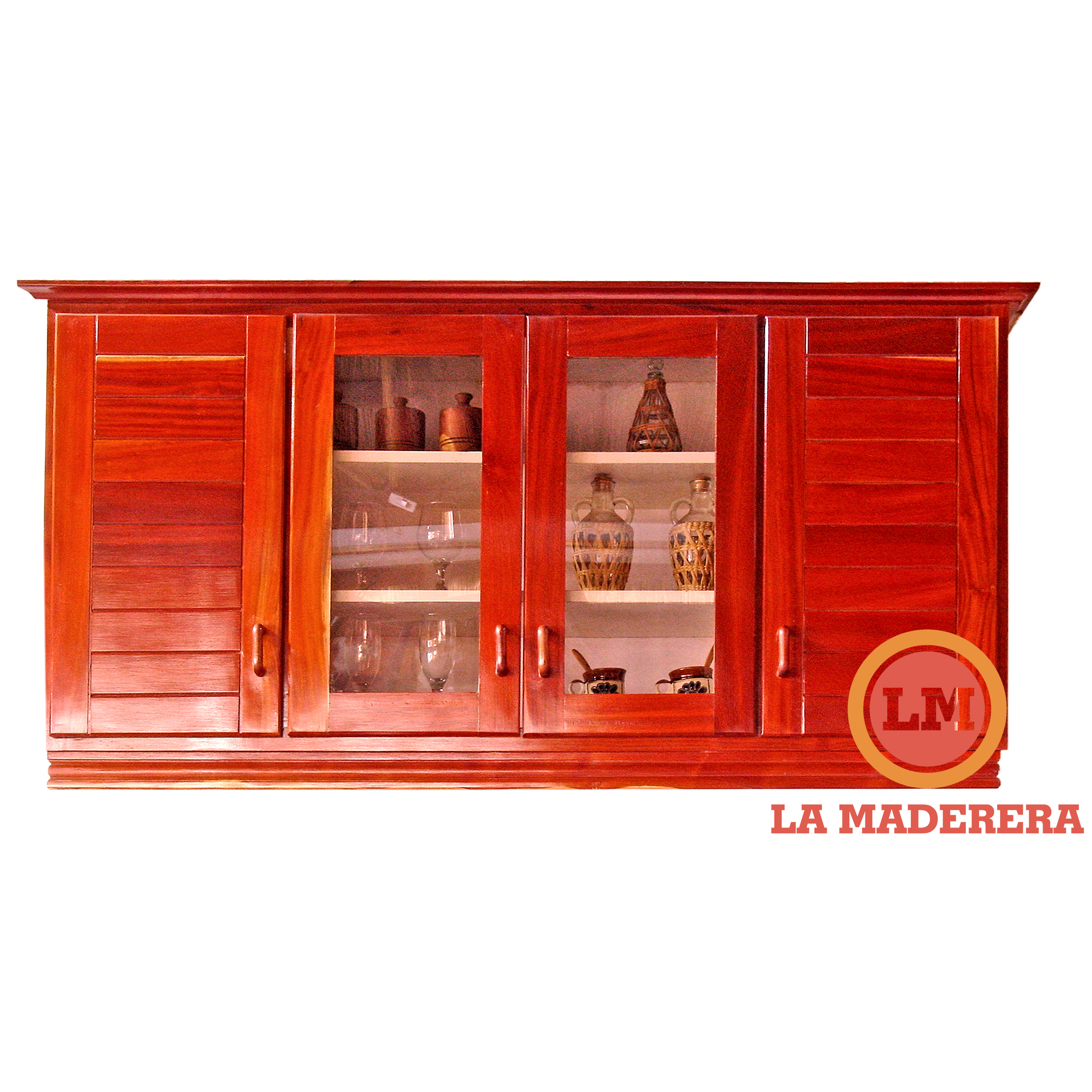 Alacenas para cocina a medida en quebracho colorado la maderera - Alacenas de madera para cocina ...