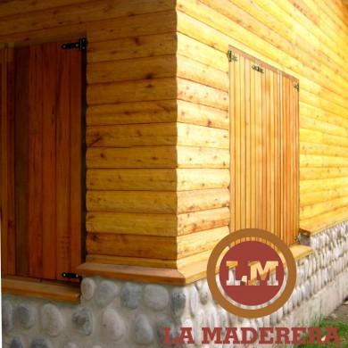 cabaa en mar chiquita con postes de quebracho y tablado hachado cabaas maderas materiales maderas para techo