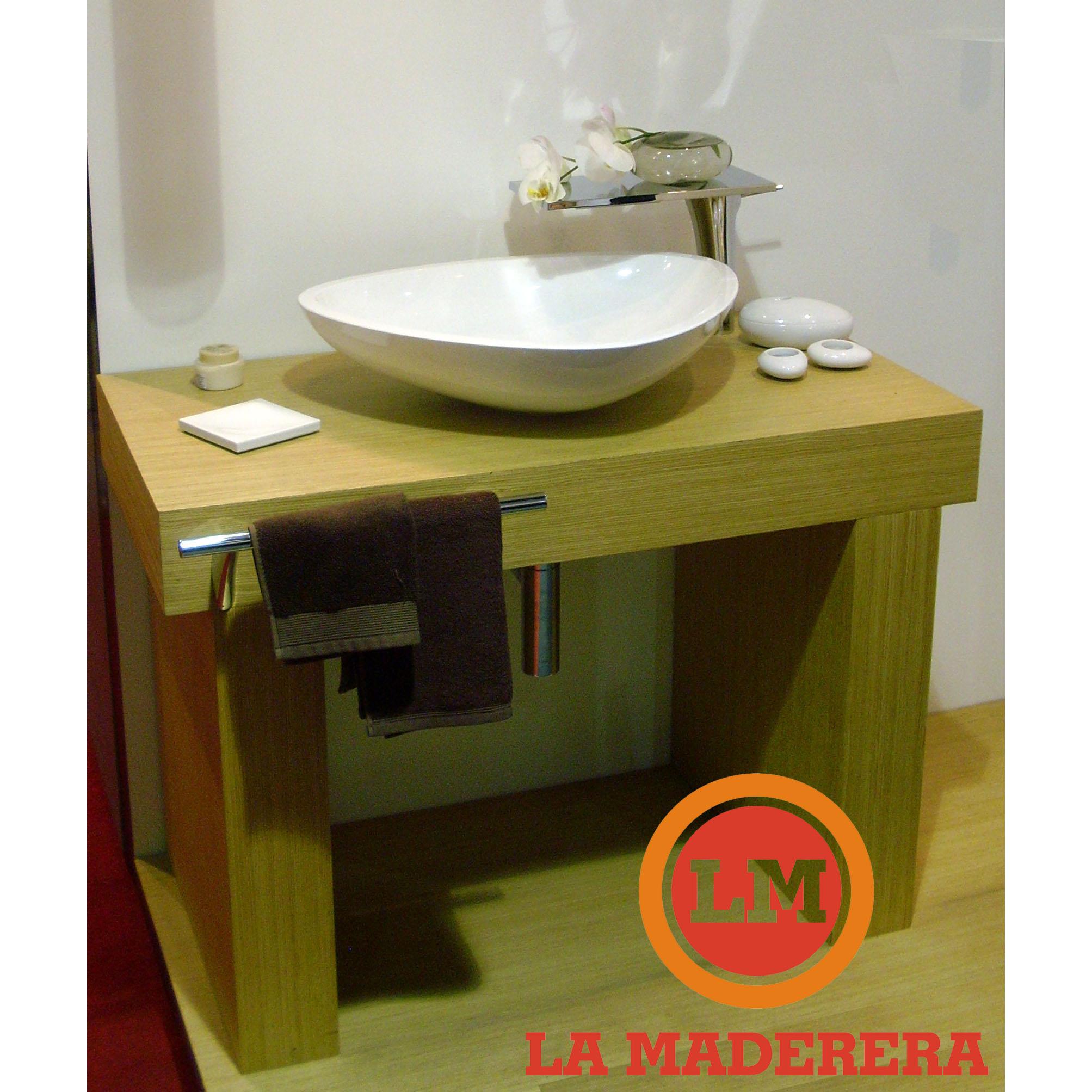 Bacha Para Vanitory Baño:vanitory en melamina con bacha de apoyo baño vanitorys maderas
