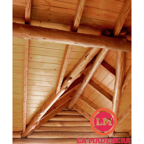 Saligna eucalyptus grandis tirantes tablado machimbre - Madera para techos interiores ...