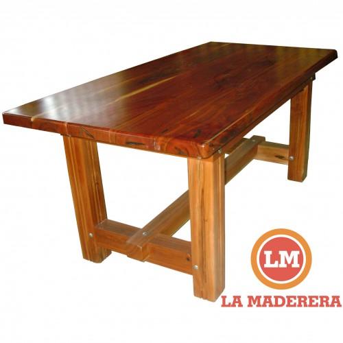 Mesas categorias de los productos la maderera - Mesas de cocina madera rustica ...