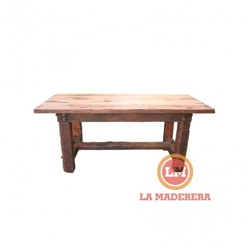 Mesa en durmiente 85cm x 1,90m (5)