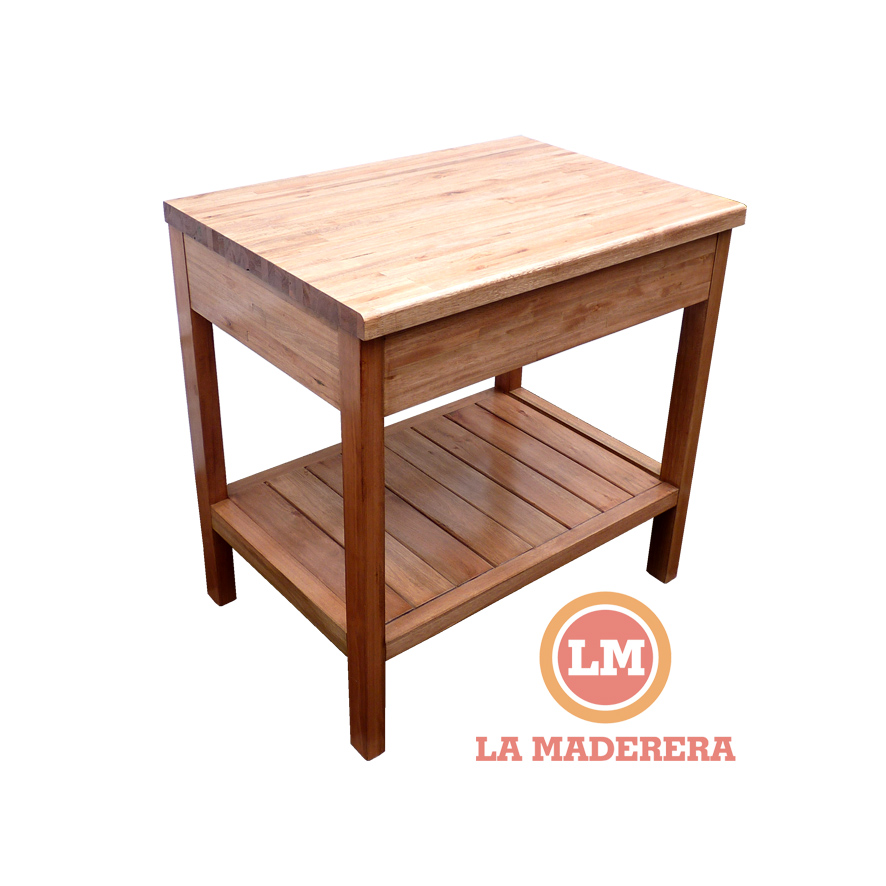 mueble multiuso vanitory para tv o mesa para exteriores On mesada madera para bano