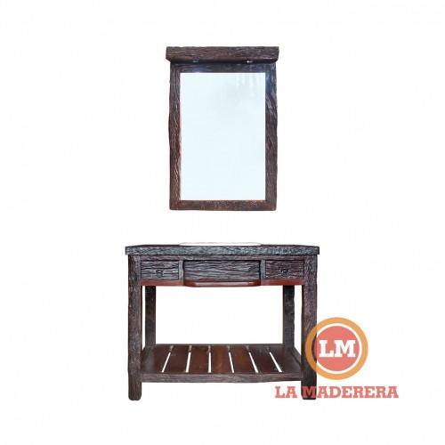 WEB Vanitory en durmientes + espejo con luces 2